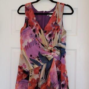 Coldwater Creek flower print dress